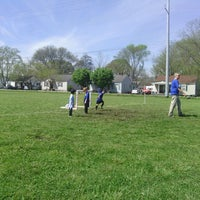 Photo taken at Rossville Athletic Complex by Alli C. on 4/13/2013