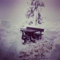 Photo taken at Passo costalunga by Nicolo W. on 12/29/2013