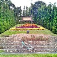 Photo taken at Krisdadoi Resort Chiang Mai by Nokey D. on 11/12/2013