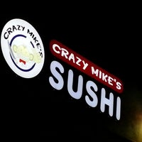 Photo taken at Crazy Mike's Sushi by Greg on 3/3/2013