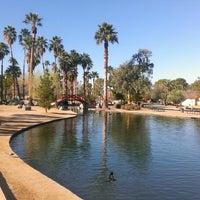 Photo taken at Encanto Park by Omar G. on 3/12/2013