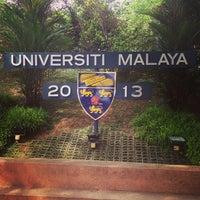 Photo taken at Universiti Malaya (University of Malaya) by Pelakon U. on 1/1/2013