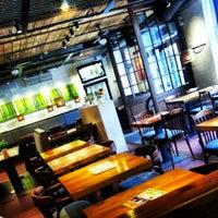 Photo taken at Fabrika Dinner Restaurant by Kristīne G. on 4/14/2013