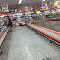 Photo taken at Mundial Supermercados by Alexandre P. on 2/16/2013