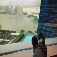 Photo taken at Marina Bay Financial Centre (MBFC) Tower 1 by Wil-Rainier V. on 12/2/2016