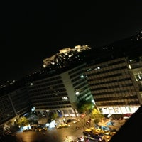 Photo taken at NJV Athens Plaza Hotel by Rana A. on 5/17/2013