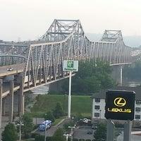 Photo taken at Radisson Hotel Cincinnati Riverfront by Sameer L. on 6/18/2013