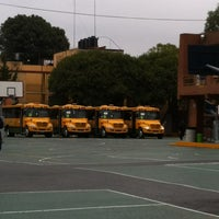 Photo taken at Instituto Inglés Mexicano by Ariadna R. on 8/31/2013