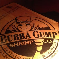 Photo taken at Bubba Gump Shrimp Co by April S. on 1/30/2013