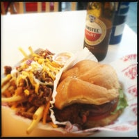 Photo taken at Dickie Jo's Burgers by Earl M. on 4/21/2013