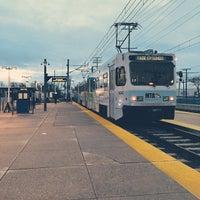 Photo taken at Cromwell Station/Glen Burnie Light Rail Station by Tommy W. on 3/30/2015