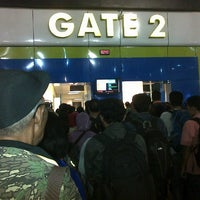 Photo taken at Gate 2 by Yudie R. on 8/10/2014