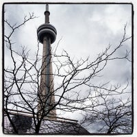Photo taken at CN Tower by Michelle K. on 11/26/2012