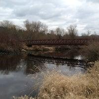 Photo taken at Mercer Slough North Bridge by Tong M. on 2/8/2013