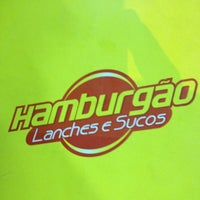 Photo taken at Hamburgão by Elson W. on 1/6/2013