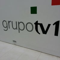 Photo taken at Grupo TV1 by Juliano S. on 2/27/2013