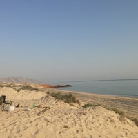 Photo taken at AsSeifa Beach by محمد ا. on 1/28/2013