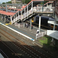 Photo taken at Redfern Station (Concourse) by Tazstar on 1/2/2013