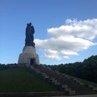 Photo taken at Treptower Park by Aleks M. on 7/10/2013
