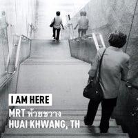 Photo taken at MRT Huai Khwang (HUI) by Ithinath T. on 5/31/2013