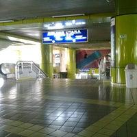 Photo taken at Stasiun Gambir by Kalong I. on 6/7/2013