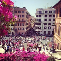 Photo taken at Piazza di Spagna by Marta M. on 5/3/2013