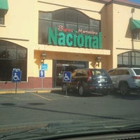 Photo taken at Supermercados Nacional by Abnel L. on 12/1/2012