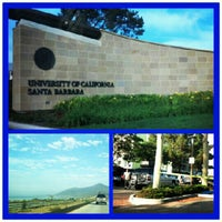 Photo taken at University of California, Santa Barbara (UCSB) by SoCalVivi on 9/23/2012