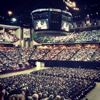 Photo taken at Reed Arena by Travis N. on 5/10/2013