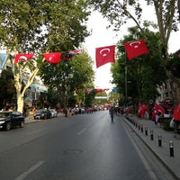 Photo taken at Bağdat Avenue by Cihan T. on 5/19/2013