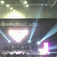Photo taken at Arena Puerto Montt by katherine K. on 2/14/2013