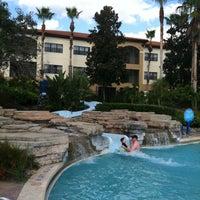 Photo taken at Splash Lagoon (North Village at Orange Lake Resort) by Tiffany L. on 1/16/2013