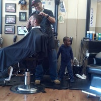 Photo taken at Kool Kuts Barbershop by Kevin P. on 4/19/2014