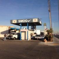 Photo taken at Desert Oasis Smog by Ron G. on 1/8/2014