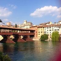 Photo taken at Ponte degli Alpini by Ilaria B. on 4/14/2013
