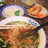 Photo taken at Pho Rua Vang (Golden Turtle) by Carly M. on 3/9/2013