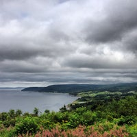 Photo taken at Bras D'or Lake Looloff Irish Cove by Greg C. on 8/14/2013