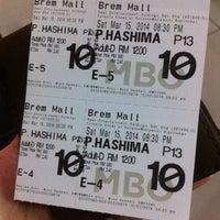 Photo taken at BIG Cinemas by Trisha A. on 3/15/2014