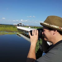 Photo taken at South Padre Island Birding & Nature Center by Christopher G. on 8/31/2013