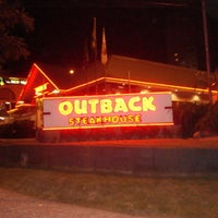 Photo taken at Outback Steakhouse by Rodrigo G. on 1/27/2013