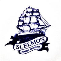 Photo taken at St. Elmo's  Seaside Brasserie by André A. on 5/29/2013