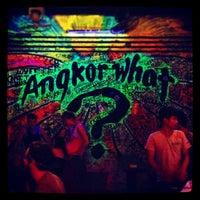 Photo taken at Angkor What? Bar by Мята М. on 4/4/2013