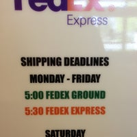 Photo taken at FedEx Ship Center by Soli G. on 4/3/2013