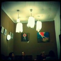 Photo taken at Prádelna Cafe by Катя on 1/30/2013