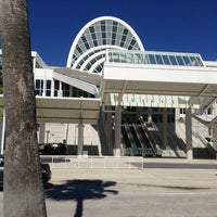 Photo taken at Orange County Convention Center South Concourse by Amos B. on 2/18/2013
