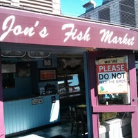 Photo taken at Jon's Fish Market by Jonathan M. on 12/28/2012
