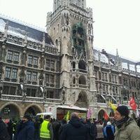 Das Foto wurde bei Neues Rathaus von Zoe D. am 1/19/2013 aufgenommen