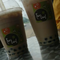 Photo taken at Tea Leaf Cafe by Ann M. on 7/1/2013