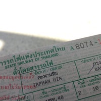 Photo taken at Taphan Hin Railway Station (SRT1099) by TENNO S. on 1/31/2016