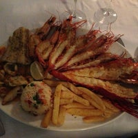 Photo taken at Baia Seafood Restaurant by Andrey C. on 3/6/2013